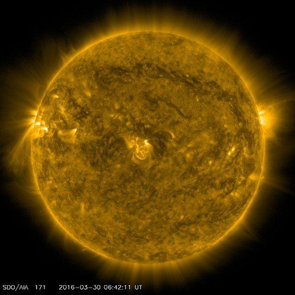 Солнечная активность 30 / Интересный космос
