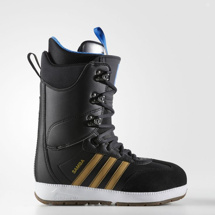 Inspired by the iconic adidas turf shoe, these snowboarding boots deliver authentic style and personalized comfort. Articulated and molded details provide a flexible, natural fit that contours to your body. A rugged rubber outsole with backstay provides dig-in traction and helps prevent slippage in the binding.