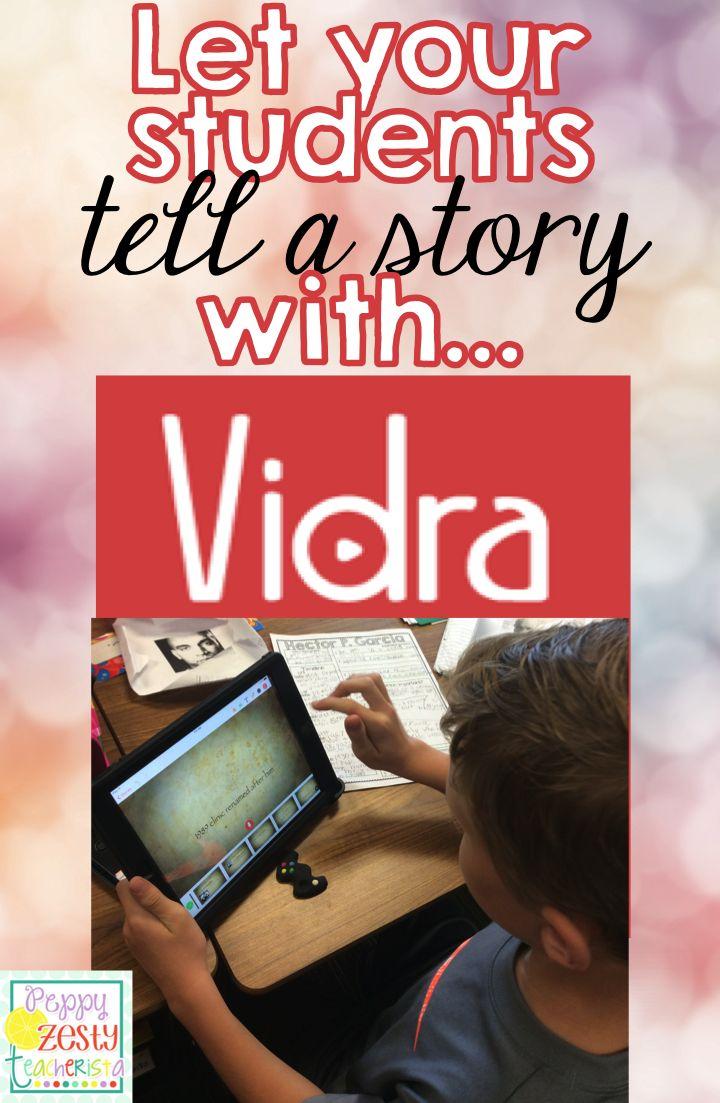 Take projects to the next level with Vidra – Peppy Zesty Teacherista