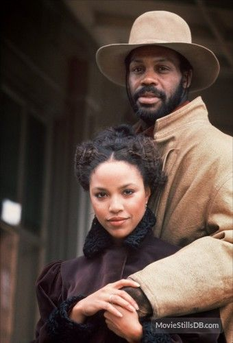 Silverado  Danny Glover. as Mel with Lynn Whitfield as Rea who played his sister in Silverado.