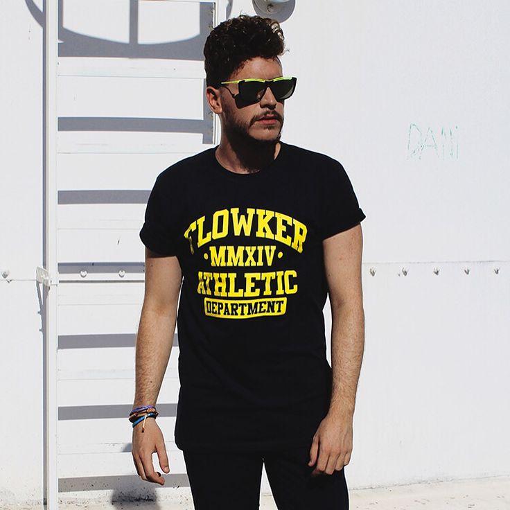 Camiseta FLOWKER ath.dept !! Estas listo para llevártela