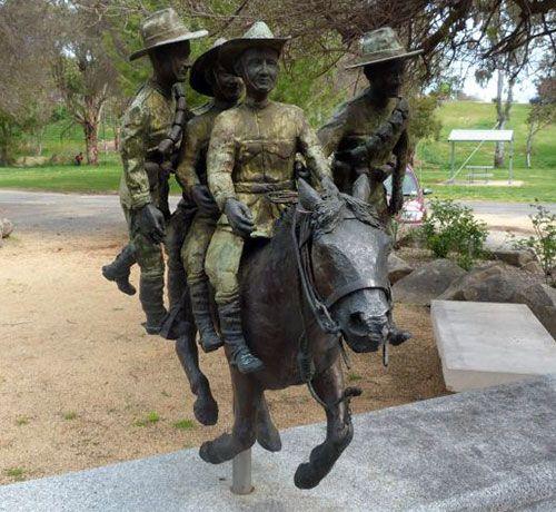 Murrumburrah Australia  city photo : Retreat at Romani: Light Horse Memorial in Murrumburrah, NSW ...