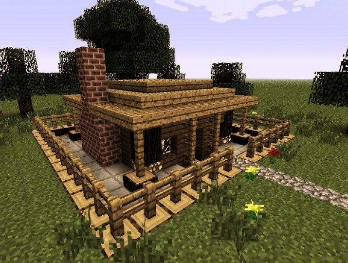 De  Bedste Idéer Inden For Minecraft Small Modern House På - Minecraft modern house 5x5