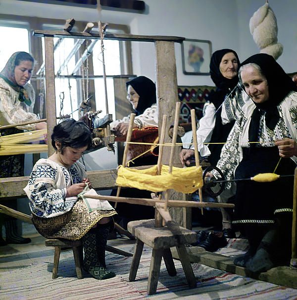 Making wool clothing in Vrancea, Romania, photo Emanuel Tanjala