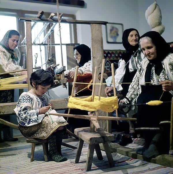 Making wool clothing in Vrancea, Romania, photo Emanuel Tanjala