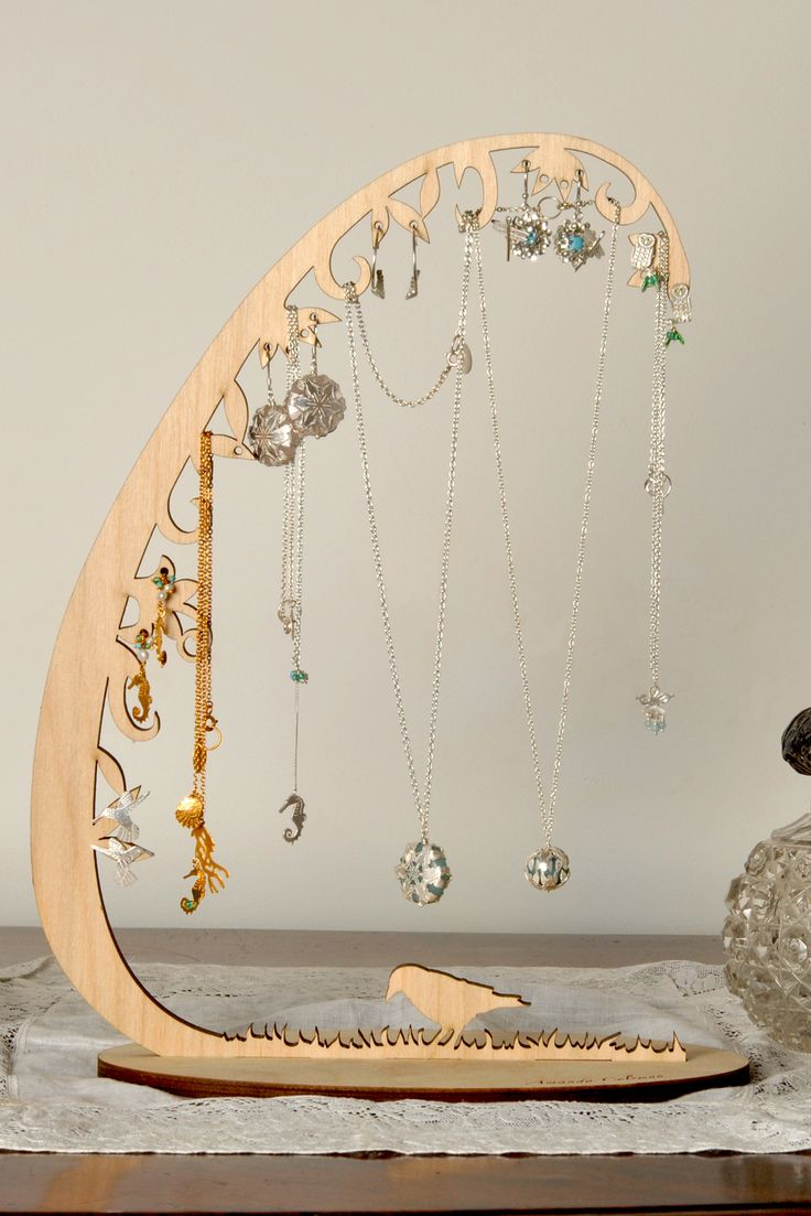 woodland jewellery stand, large by Amanda Coleman