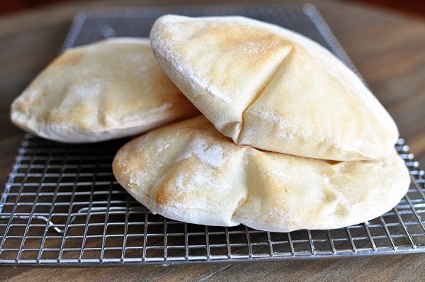 Pita bread is one of the easiest yeast dough's to make at home. And you will feel like a rock star when you create a piece of bread that has apocket inside of it!
