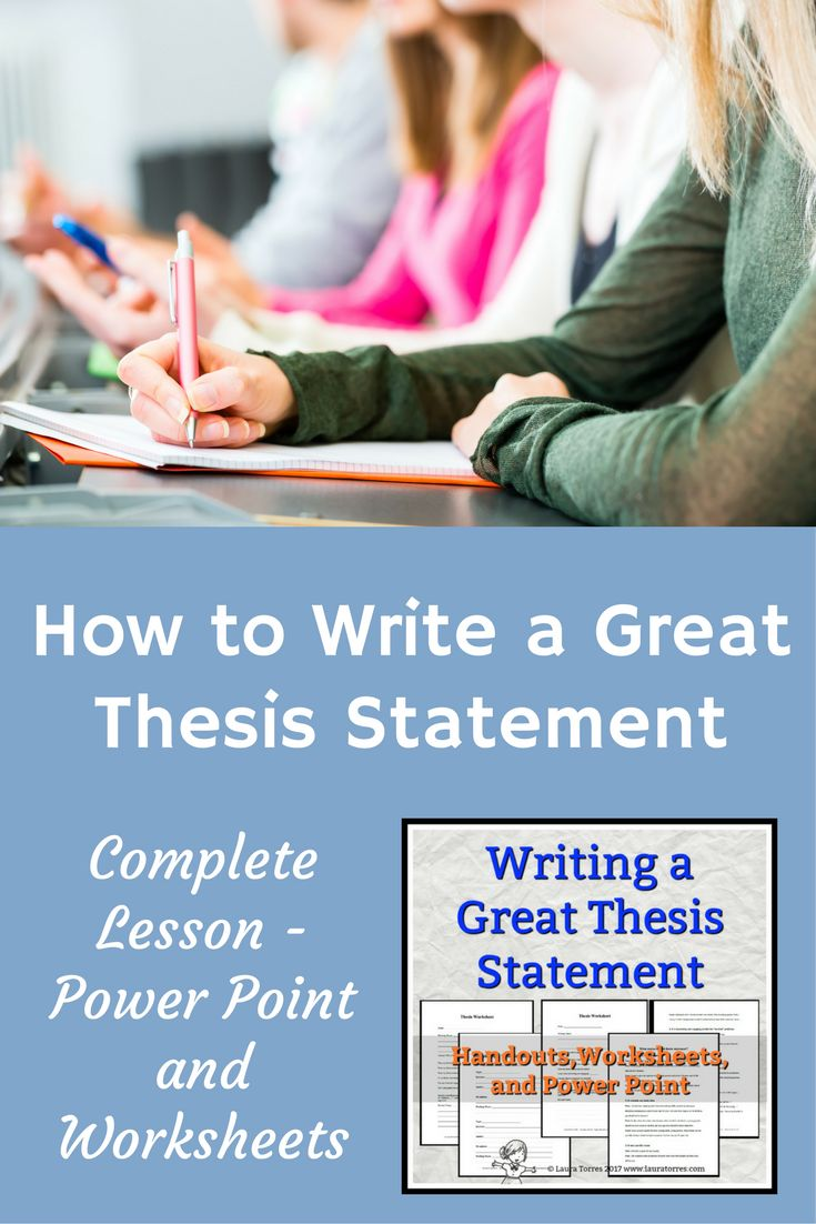 how to write a thesis statement 9 11