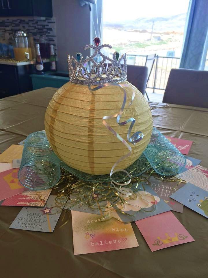 Cinderella Party Centerpiece use lanterns i already