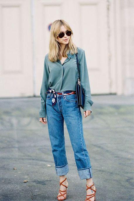 Pinterest : comment porter son jean à la rentrée ?