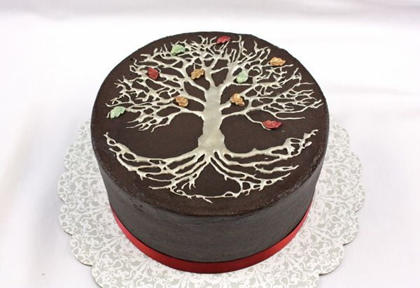 Tree of Life Cake - Around the World in 80 Cakes