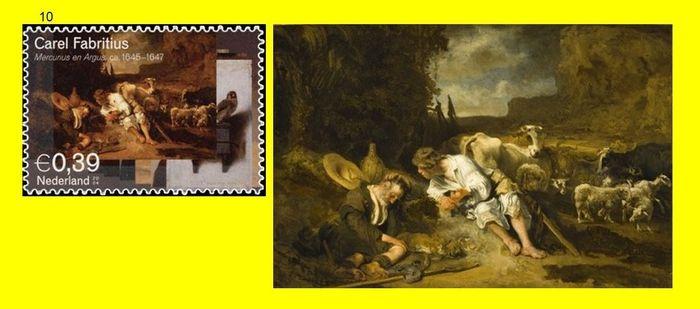 Карел Фабрициус (1622-1654) — Меркурий и Аргус. 1647. Лос-Анджелес. Музей изящных искусств.