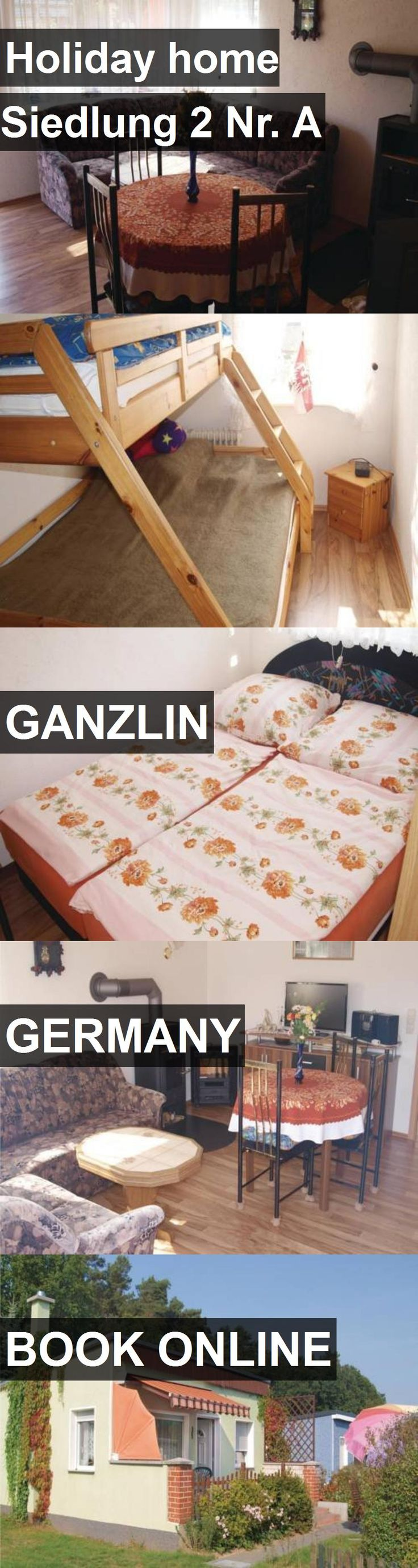 Hotel Holiday home Siedlung 2 Nr. A in Ganzlin, Germany. For more information, photos, reviews and best prices please follow the link. #Germany #Ganzlin #travel #vacation #hotel