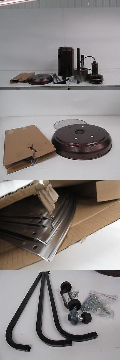 Patio Heaters 106402: Fire Sense 60485 Hammer Tone Bronze Commercial Patio  Heater  U003e BUY