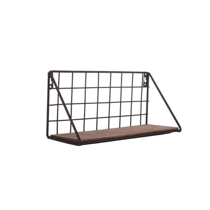 Corsham Metal Grid Wall Shelf Metal Grid Wall Shelves Shelves