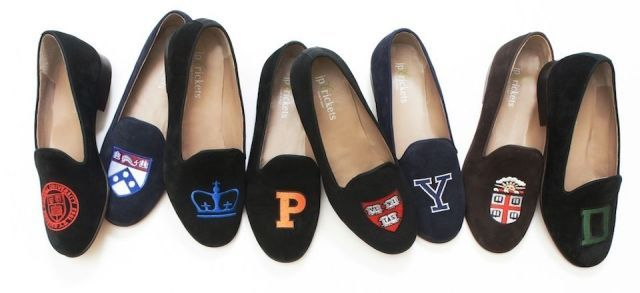 SLEPPER WITH YOUR COLLEGE LOGO OR LETTER~ 18 Signs You Went to an Ivy League School  - TownandCountryMag.com