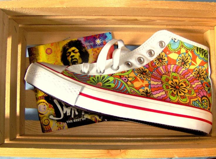 Módní obuv...Hippie...