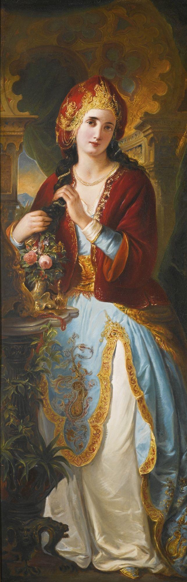 french school girl in ottoman costu | portrait | sotheby's l16100lot8vgj6en