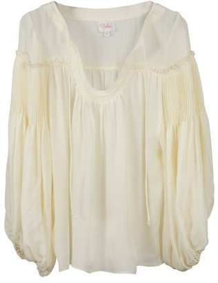 ShopStyle: Parker Peasant Top in Cream
