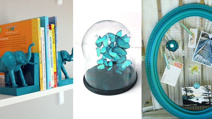 Cool Turquoise Room Decor Ideas - Fun Aqua Decorating Looks and Color for Teen Bedroom, Bathroom, Accent Walls and Home Decor - Fun Crafts and Wall Art for Your Room http://diyprojectsforteens.com/turquoise-room-decor-ideas
