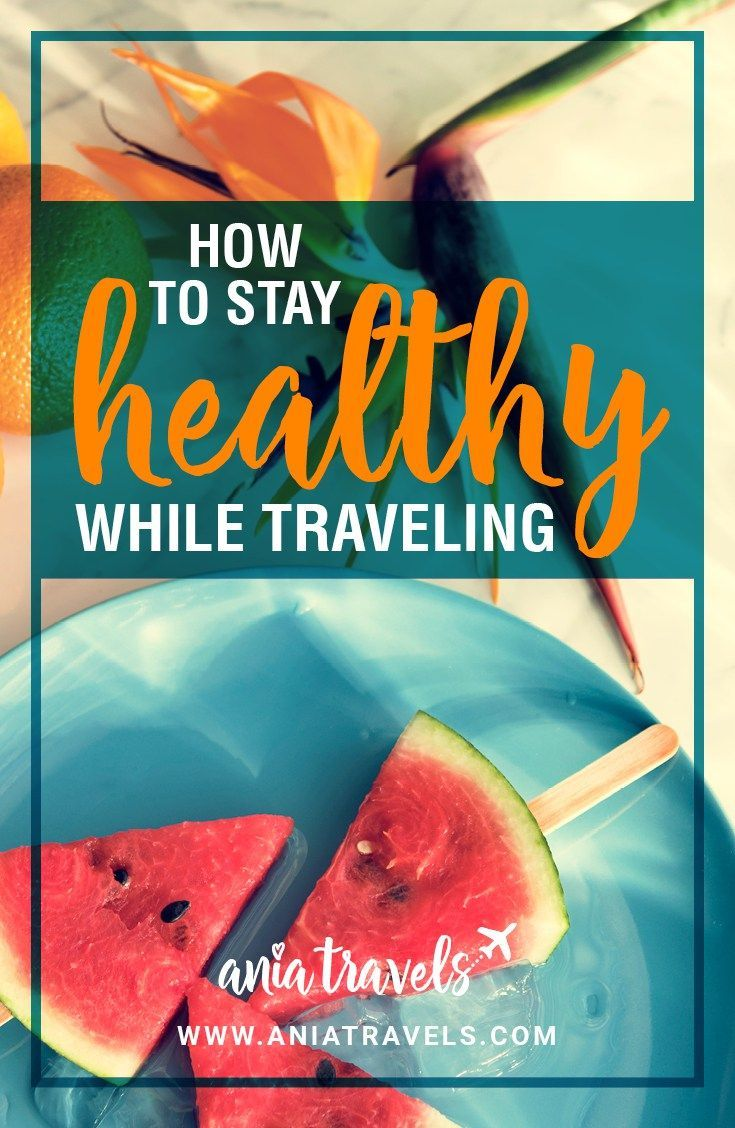 If you're anything like me you try to be as health cautious as possible. Here are some tips on how to stay healthy while traveling. | Healthy Living | Travel | How to Stay Healthy | Solo Travel | Lifestyle
