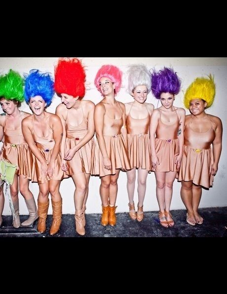25 Clever Halloween Costumes To Wear As A Group troll costume 90s fancy dress 80s costume