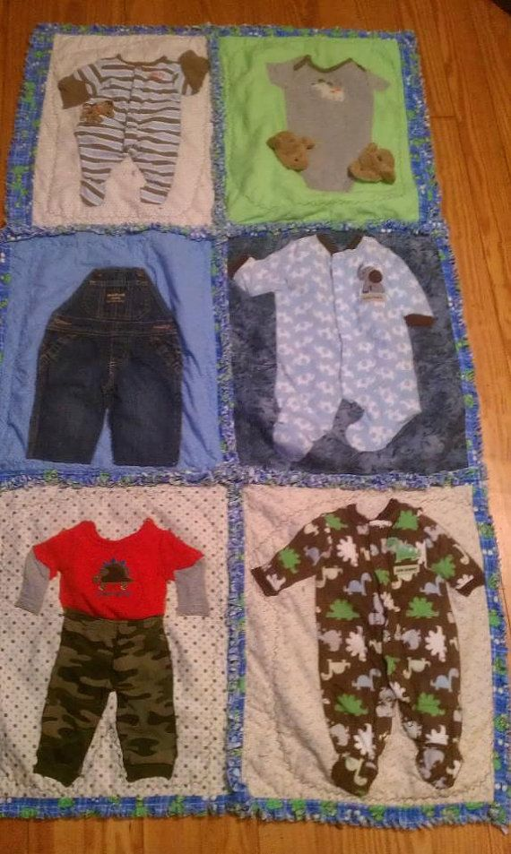 Custom made Quilts from your Tshirts baby cloths or by Quiltwithme, $250.00