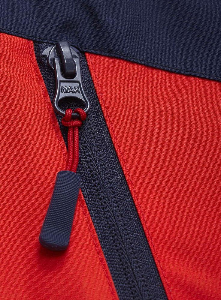 Boys Tech Jacket Red & Navy