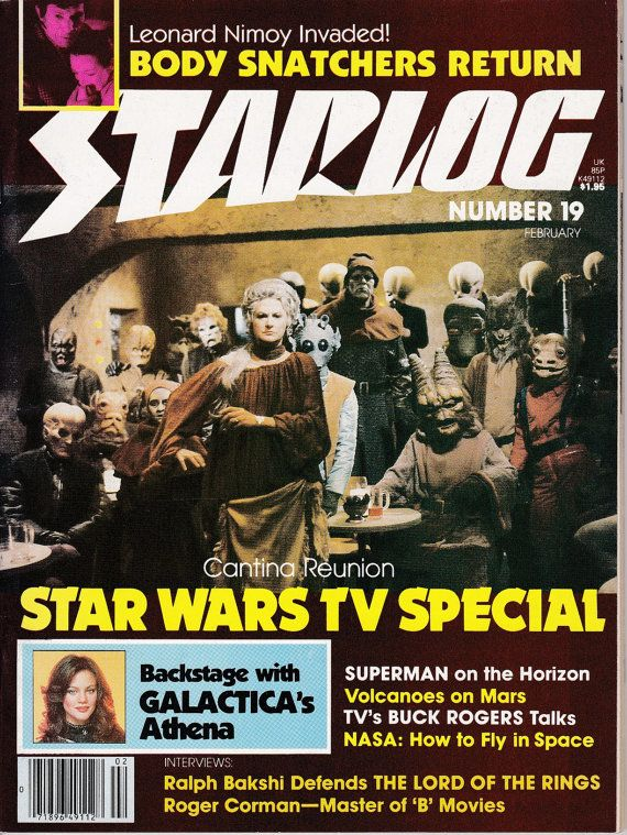 Starlog 19  February 1979 Issue  Star Wars Holiday by ViewObscura