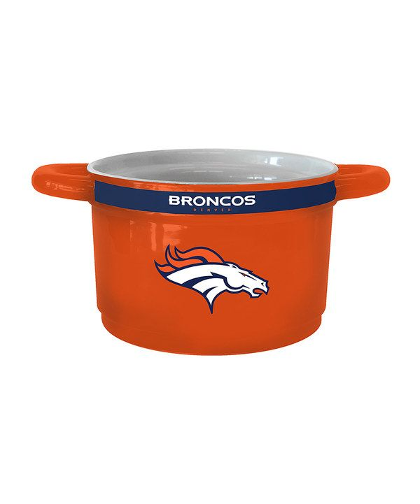 Look at this Denver Broncos Game-Time Bowl on #zulily today!