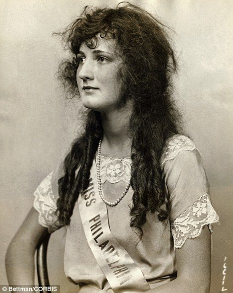 "Miss America 1924 Society's standards of ""what is deemed beautiful"" may have changed, but your standards should not. Don't fall victim to the day; stay beautiful."