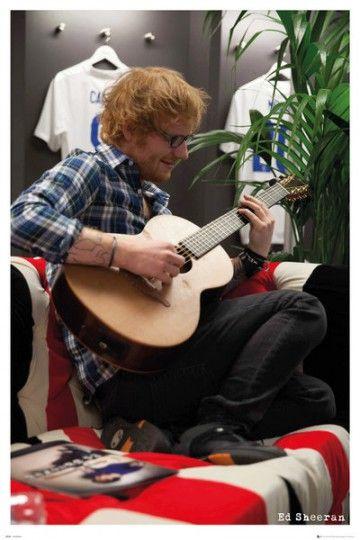 Ed Sheeran Wembley - plakat