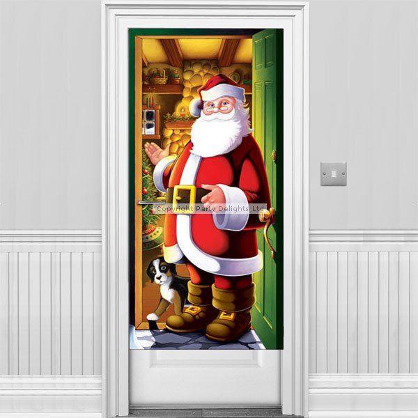 santa door cover