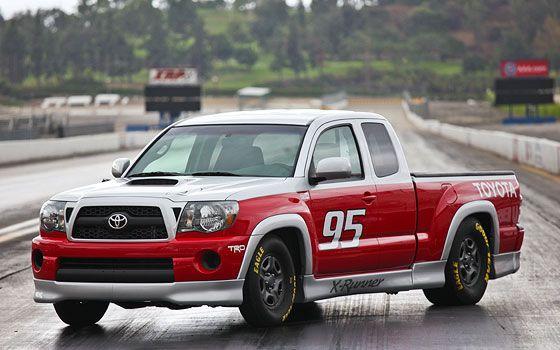 Toyota Tacoma X-Runner RTR V8 engine