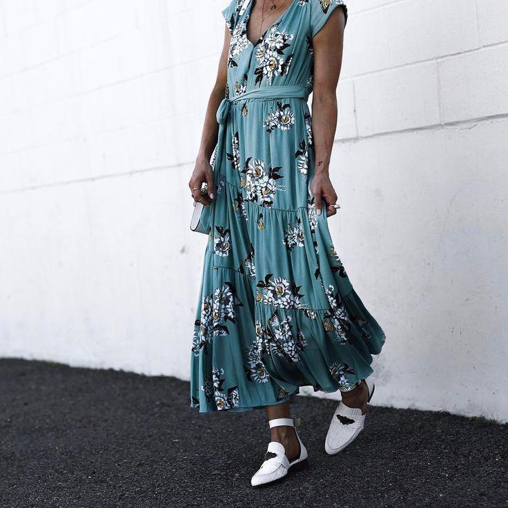 Spring/ Summer 2017 Outfit Inspo Jordan & Kemper (@joandkemp) on Instagram: free people, maxi dress, fashion, boho