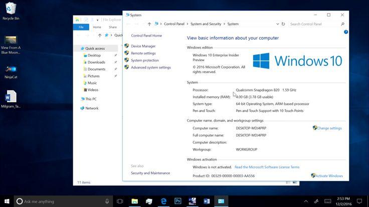 Windows 10 demandera un Qualcomm Snapdragon 835 pour fonctionner sur ARM - http://www.frandroid.com/marques/microsoft/396794_windows-10-demandera-un-qualcomm-snapdragon-835-pour-fonctionner-sur-arm  #Microsoft, #Processeurs(SoC), #Qualcomm