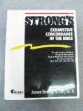 Strong's Exhaustive Concordance of the Bible/Words of Jesus Identified in Boldface Red Letter and a Key-Word Comparison