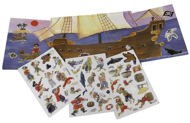 Egmont Toys Ukladanka Magnetyczna Piraci Statek 7713622896 Oficjalne Archiwum Allegro