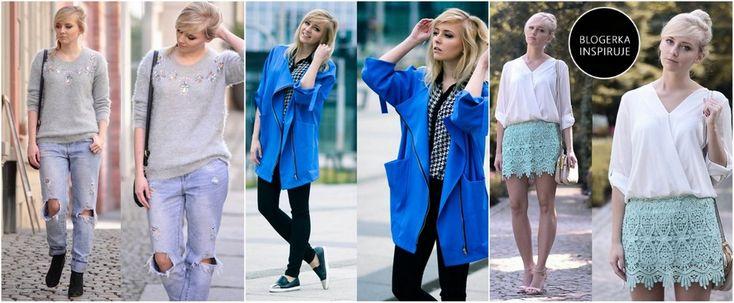Wiosenny look dla blondynek - Trendy w modzie - Domodi.pl
