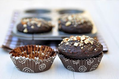 Anja's Food 4 Thought: Chocolate Carrot Muffins
