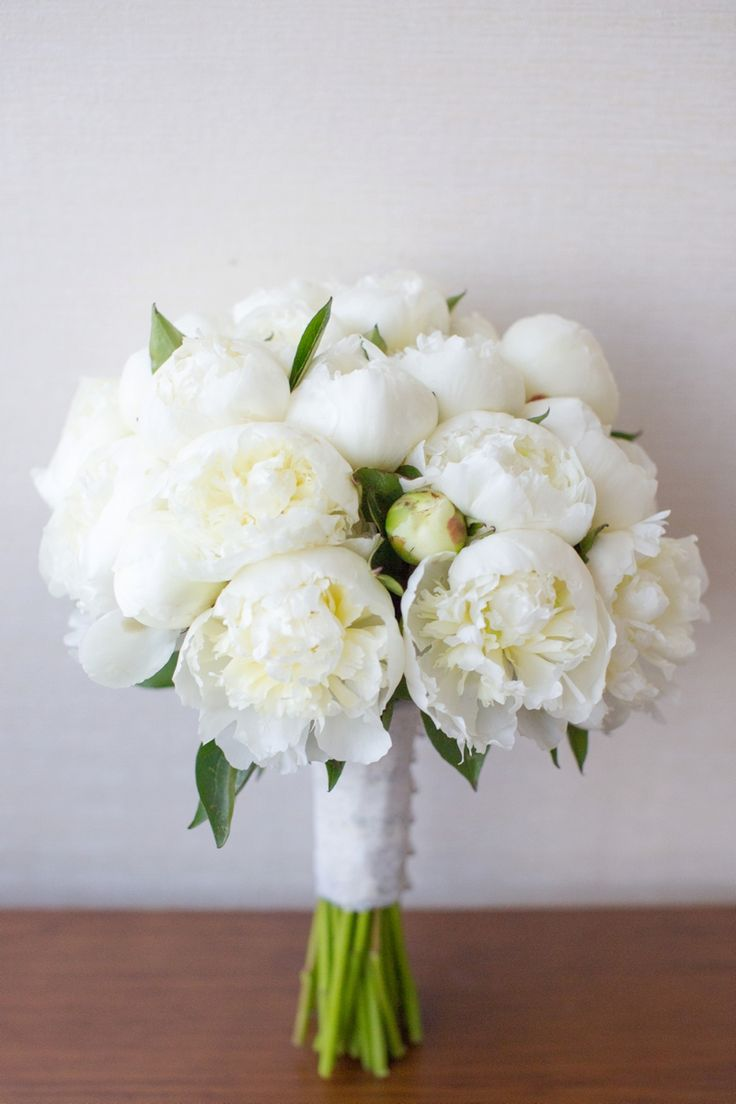 Best 25 white peonies bouquet ideas only on pinterest peonies an elegant navy and white wedding dhlflorist Image collections