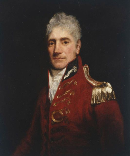 Major-General Lachlan Macquarie Colonial Administrator Portrait Oil Painting | eBay