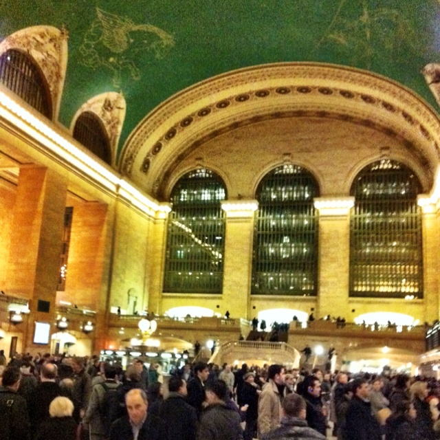 Nothin like grand central at rush hour #nyc