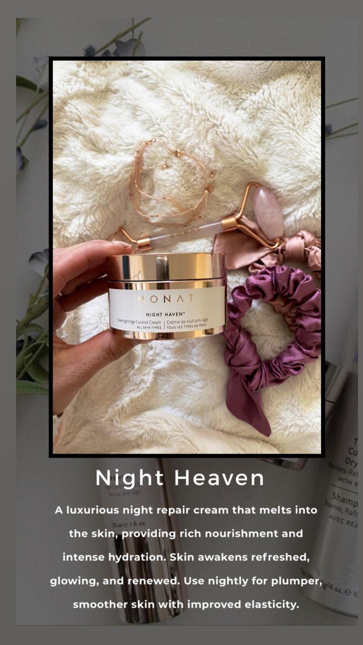 Monat Night Heaven Overnight Age Control Cream in 2020