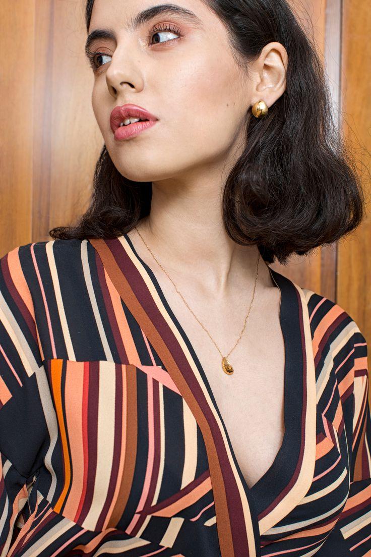 rett frem #jewelry | #necklace Irena | Precjoza collection | photo Magdalena Czajka