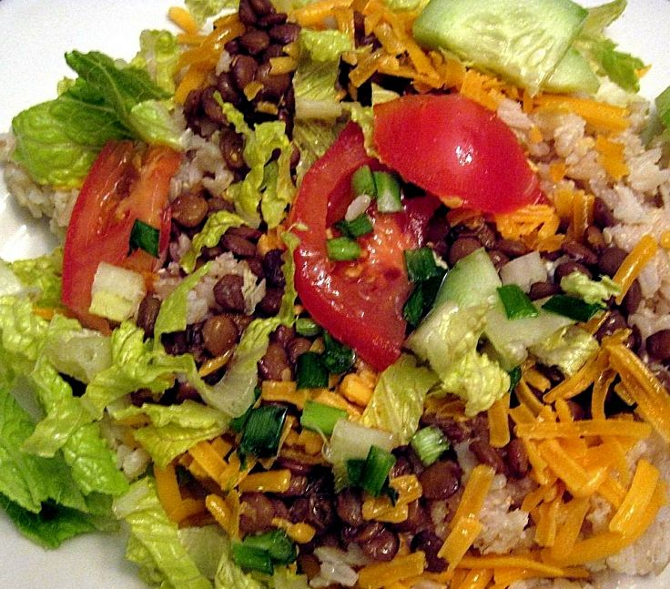 Lentils are ideal for addition to salads and side dishes. Their soft texture and rich full taste complements the other items in the salad and other dishes.