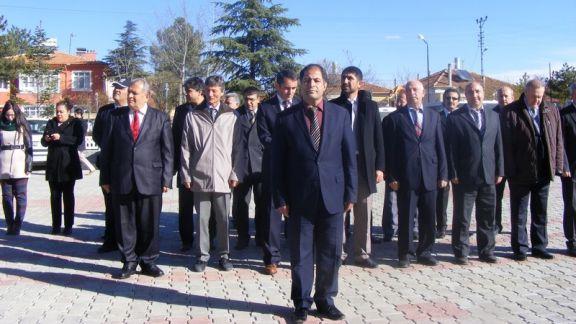 24 Kasım Öğretmenler Günü, İhsaniye'de kutlandı