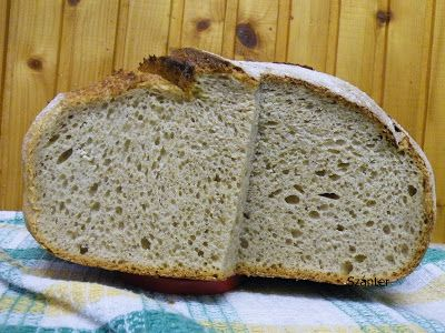 Szánter blogja.: Írós-krumplis kovászos kenyér.