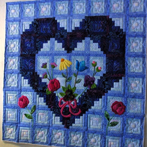 70 best Quilting Flowers images on Pinterest