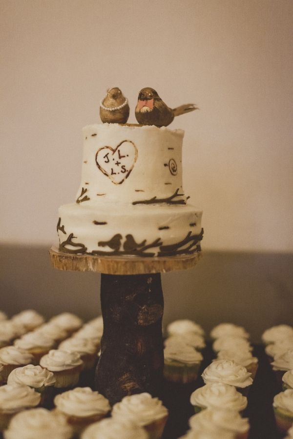 DIY: BIRD CAKE TOPPERS wedding